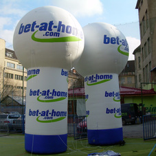 Inflatable sphere Bet-at-home