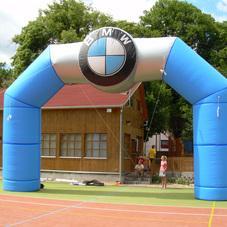 Inflatable Arch BMW