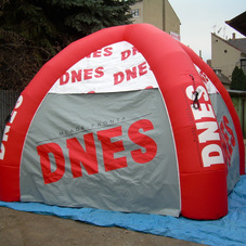 Inflatable tent MF Dnes