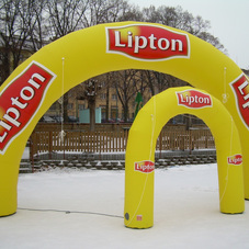 Infllatable arches Lipton