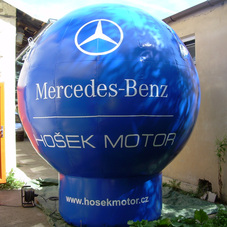 Inflatable sphere Mercedes-Benz