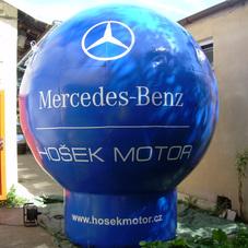 Aufblasbaren Kugeln Mercedes-Benz