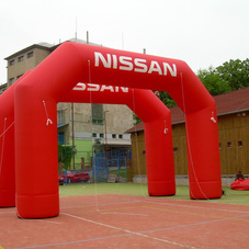 Inflatable arches Nissan
