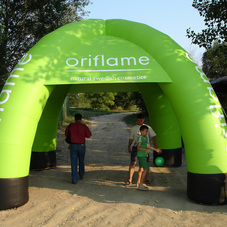 Inflatable tent Oriflame