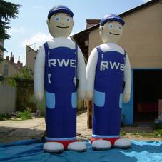 Inflatable mascots RWE