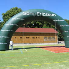 Inflatable arch Sony Ericsson