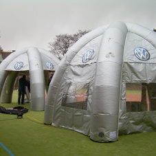 Inflatable tent Volkswagen
