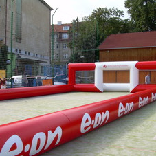 Inflatable playground E.ON