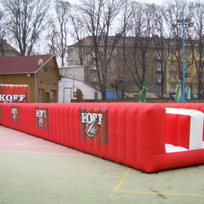 Inflatable track Koff
