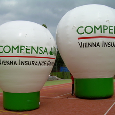 Aufblasbaren Ballon Compensa