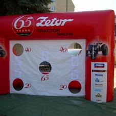 Inflatable goal Zetor