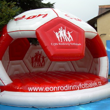 Bouncy castle E-ON