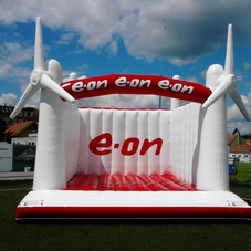 Bouncy castle E-ON_2