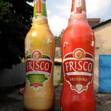 Inflatable bottles Frisco