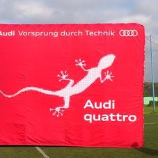 Inflatable block Audi