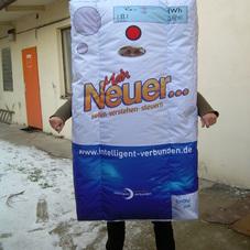 Aufblasbare kostüme thermostat