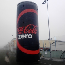 Inflatable can Coca Cola_2