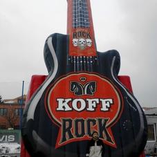 Aufblasbare gitarre KOFF