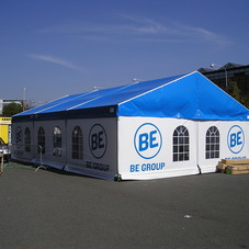 Structure tent BE group