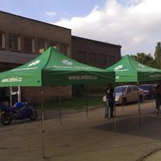 Folding tent Strana zelených