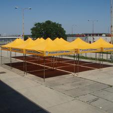 Folding tent Černá hora