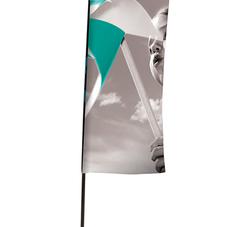 Flag flat