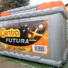 Inflatable battery Centra