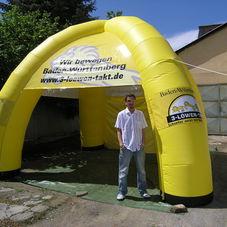 Inflatable tent 3 Lowen Takt