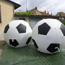 Inflatable foot-ball