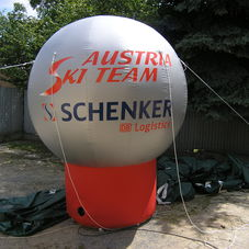 Inflatable Sphere Ski Austria