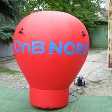 Inflatable balloon DNB