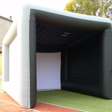 Inflatable screening Golf tent