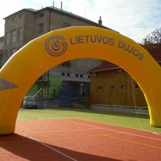 Inflatable Arch Lietuvos Dujos