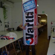 inflatable costume Vartti
