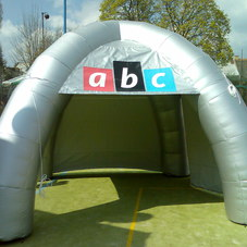 Inflatable tent ABC