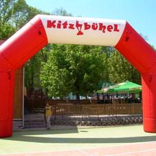 Inflatable arch Kitzbuhel