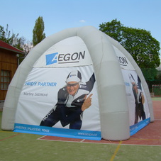 Inflatable tent AEGON