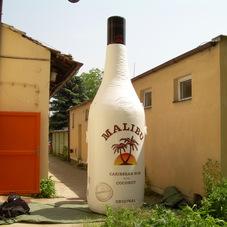 Inflatable bottle Malibu