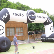 Inflatable arch radio 93,4