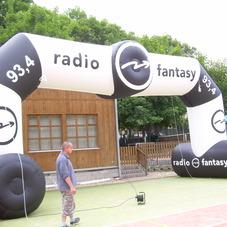 Inflatable arch radio 93,4
