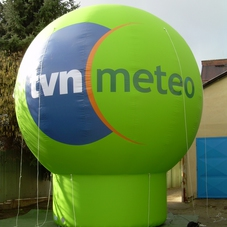 Inflatable sphere TVN