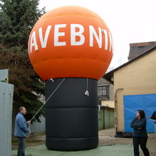 Inflatable sphere Stavebniny