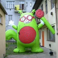 Inflatable mascot Hansu