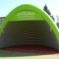 Inflatable tent Oriflame_2