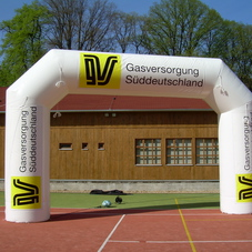 Inflatable arch GVS