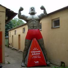 Inflatable mascot Stoneman