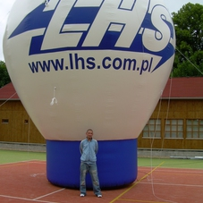 Inflatable balloon LHS