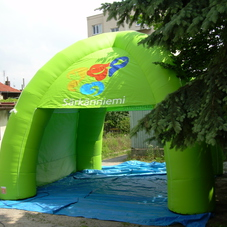 Inflatable tent Sarkanniemi