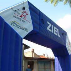 Inflatable arch Hochfilzen