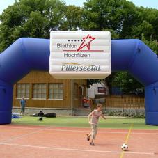Inflatable arch Hochfilzen_2